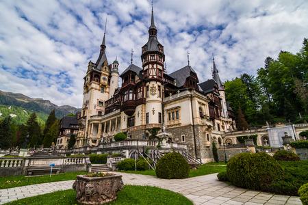 Peles Castle Sinaia, Roumanie Banque d'images - 29852685
