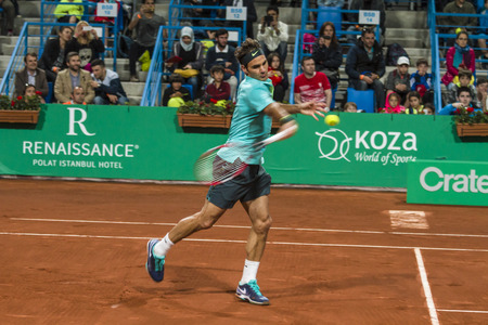 atp: Rodger Federer in ATP250 Istanbul Open 27 April  3 May 2015 Editorial