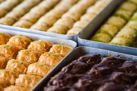 is well known: Turkish sweet baklava also well known in middle east.