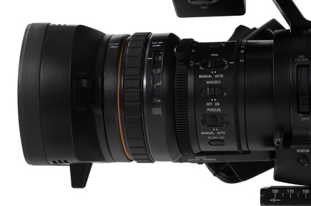 High Definition Camera (closer look of the lens)