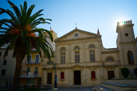An Official Buidlng in the old town of Kerkyra
