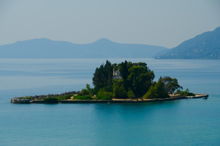 Pontikonisi, Mouse Island, Kanoni Greece