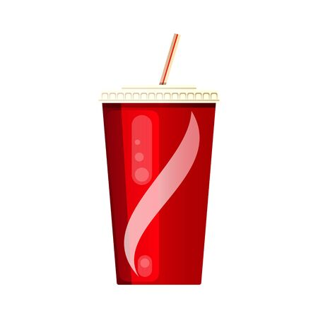 Red soda cup