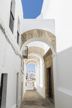 characterized: Vejer de la Frontera is a little town near Cadiz. It is placed on a hill and is characterized from white houses and small streets with great slope.