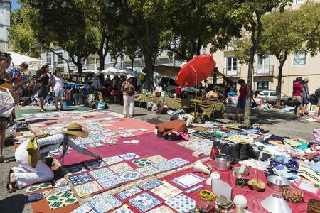 Lisbon, Portugal - August 19, 2014:  Lisbon