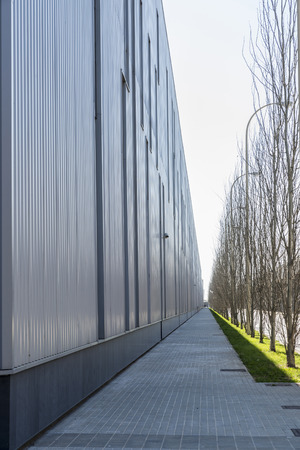 industrial park: Parco industriale di Barcellona, ??Catalogna, Spagna Archivio Fotografico