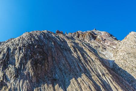 disuse: Mountains of the salt or potash mine in Cardona, Catalonia, Spain