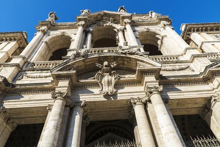 Basilica di Santa Maria Maggiore (Basilica of Saint Mary Major) in Rome, Italy. Stock Photo