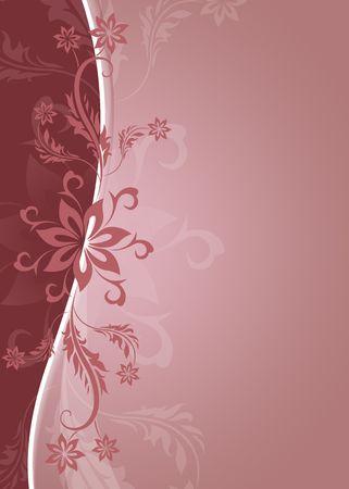 dealing: Stylish flowers background Stock Photo