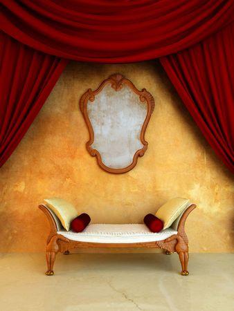 Interior - Style classic for elegant room