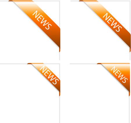 web labels Illustration