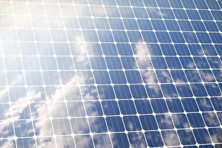 Photovoltaic panel for renewable cleaned energy  Stock Photo - 5387700