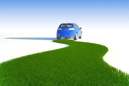 Ecological car concept respects the nature