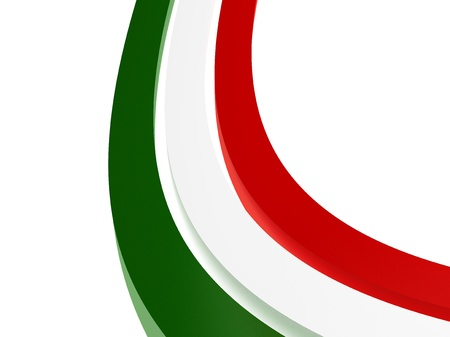 three stripes tricolors to abstract italy flags