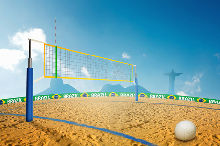 azucar: beach volley in Brazil summer games