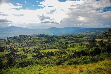 Una vista del Gran Valle del Rift