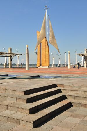 Monument along the riverfront of the city of Guayaquil, Ecuador