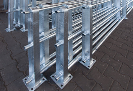 Iron and steel is protected by hot galvanizing