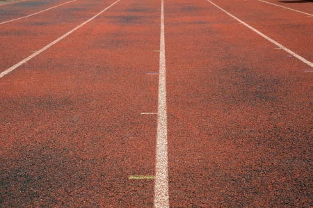 Running Track Lanes Stock Photo - 13957637