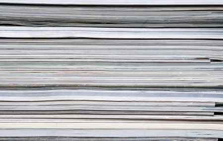 A pile of magazines Stock Photo - 14297788