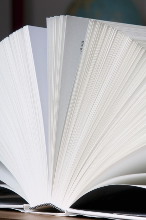 A open book with lot of pages Stock Photo - 14297779