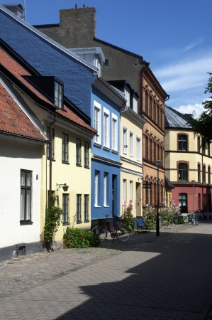 beautiful houses in Malmoe, Sweden photo
