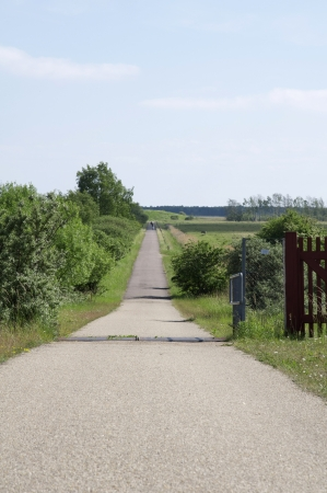next horizon: Idyllic trail