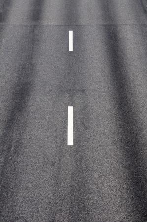 An empty motorway Stock Photo
