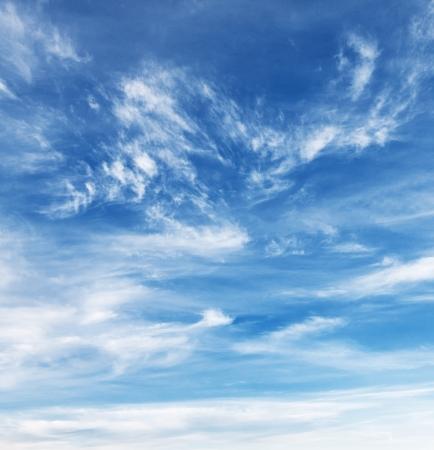 wispy: wispy cloud sky background Stock Photo