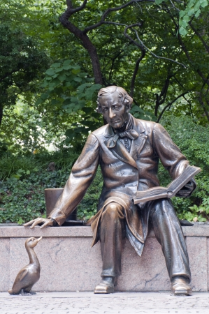 Hans Christian Andersen in Central Park