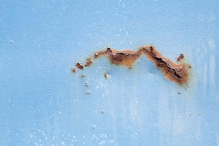 Rust on metal Stock Photo