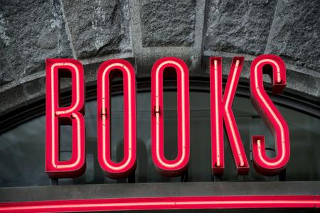 Books sign Stock Photo