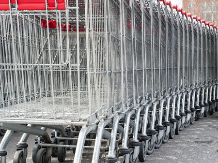 Shopping carts photo