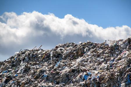 big garbage dump