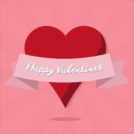 hart: valentines hart Illustration