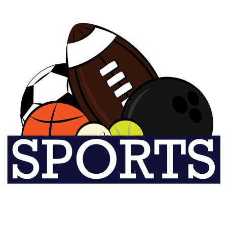 balones deportivos: bolas de diferentes deportes