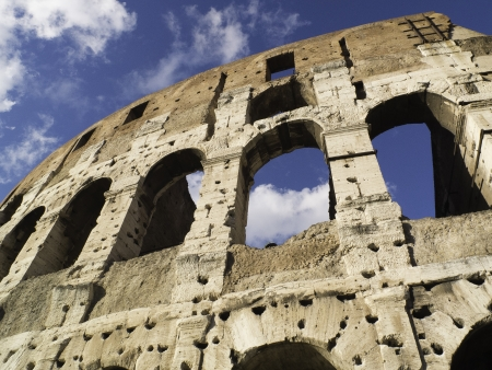 mediterraneo: Coliseum in Rome  Italy