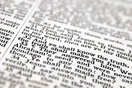 The Truth Shall Make You Free (8:31-36). Words from the Gospel of John