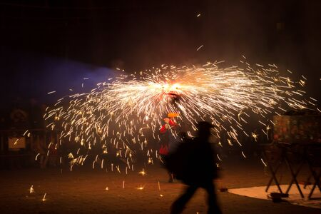 Dance, fire and devils, folklore and Mediterranean festival in which fire is the protagonist; end of Carnival. Party in which the devils with fire walk through the city. Popular festival of Catalonia.