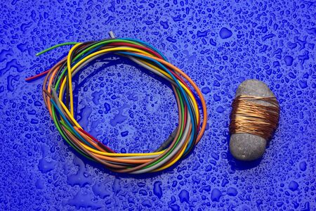 Copper is a great conductor of electricity, plastic-lined copper wire is used for connectivity and transmission of electrical current.