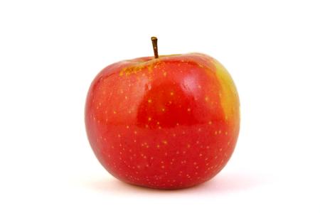Red Arianne Apfel auf weißem Hintergrund Standard-Bild - 34827192