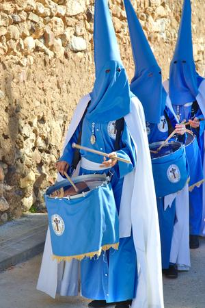 procession: Procesi�n religiosa t�pica. Semana Santa en Espa�a