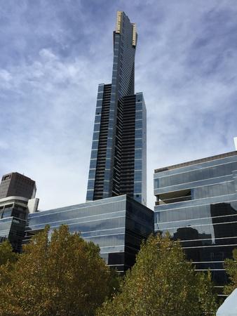 eureka: Eureka Tower Melbourne Stock Photo
