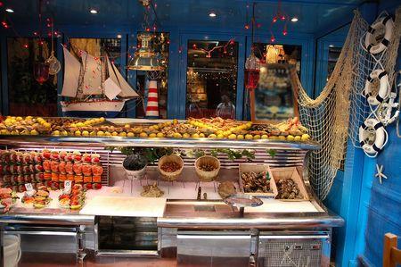 Seafood storage