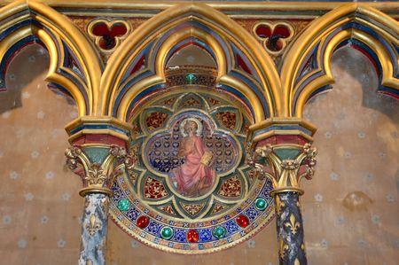 Catholic decoration Stock Photo