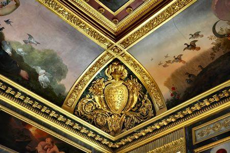 Rich ceiling detail