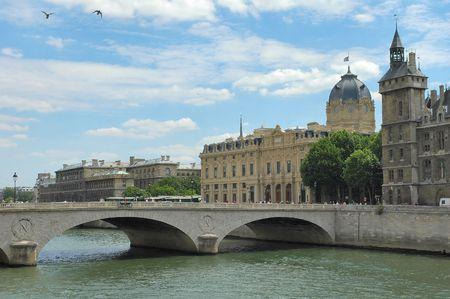 River Seine - Paris photo