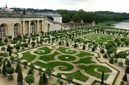 Royal gardens - Versailles Palace - France