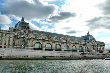 Historic building at Paris Stock Photo