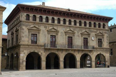 corner clock: Historic building